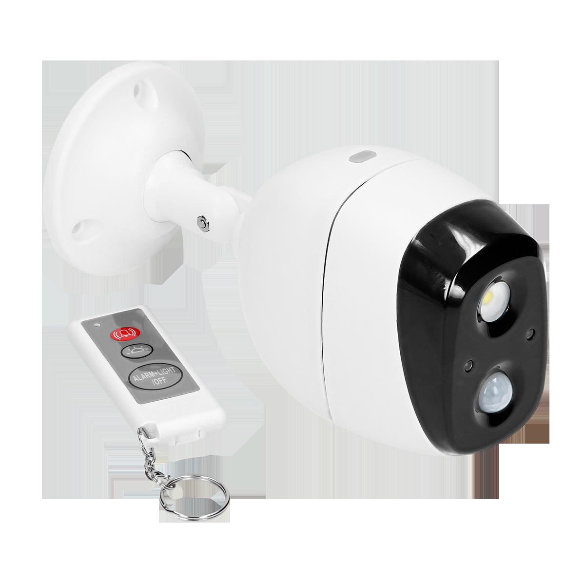 Drahtlose Mini-Alarmanlage mit PIR-Bewegungsmelder und Sirene, ferngesteuert