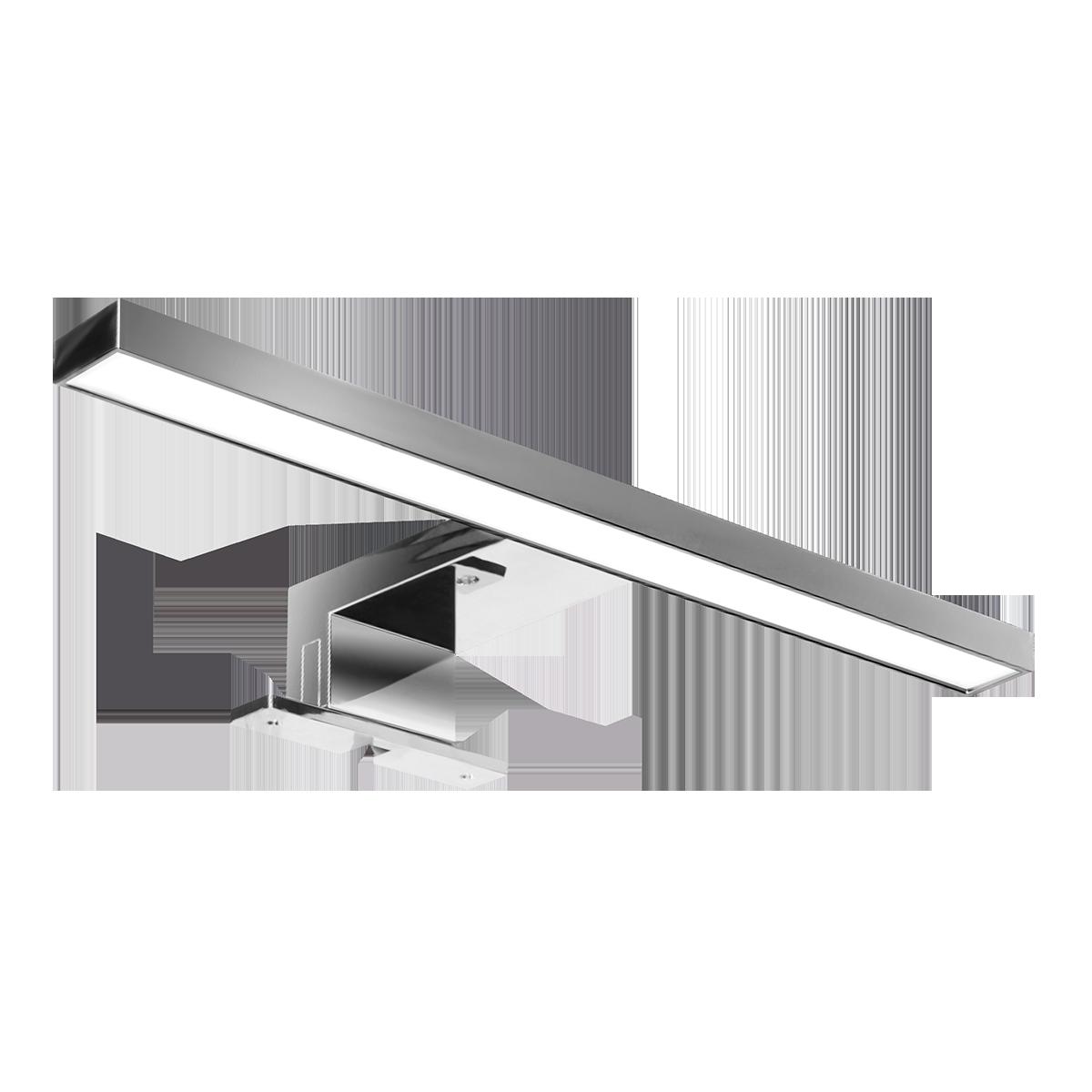 NORTES LED 5W, lampa nad lustro, 320lm, 4000K, dł. 30 cm, plastik