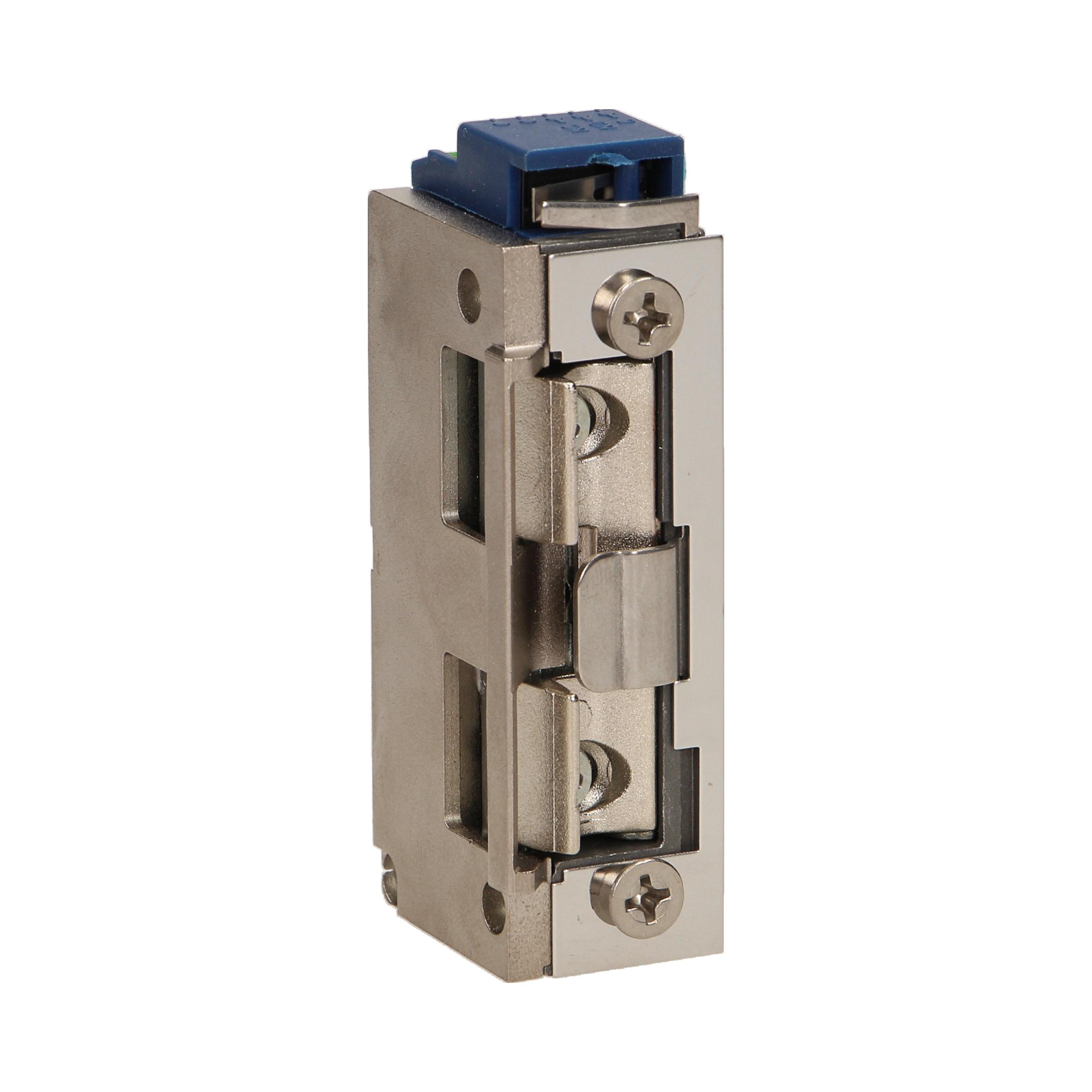 Elektrozaczep symetryczny z prowadnicą i pamięcią, MINI, 280mA